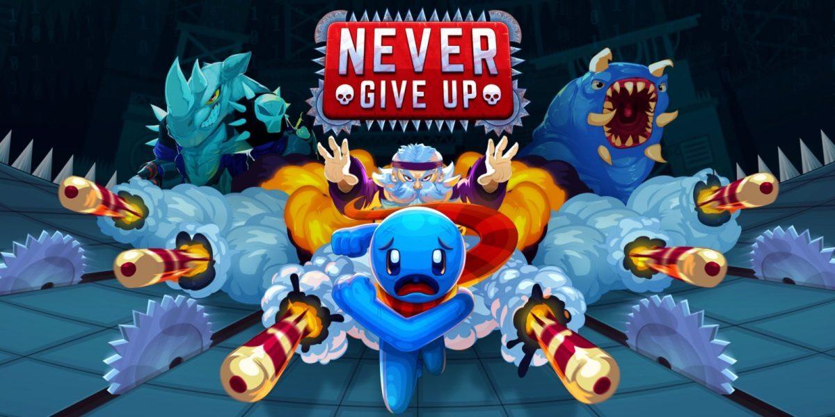 Jeu Never Give Up sur Nintendo Switch : artwork du jeu