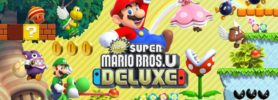 Jeu New Super Mario Bros. U Deluxe sur Nintendo Switch : artwork du jeu