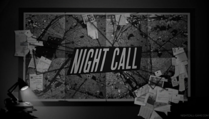 Jeu Night Call sur Nintendo Switch : artwork du jeu