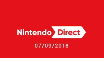 Image d'annonce d'un Nintendo Direct le 07/09/2018 à minuit