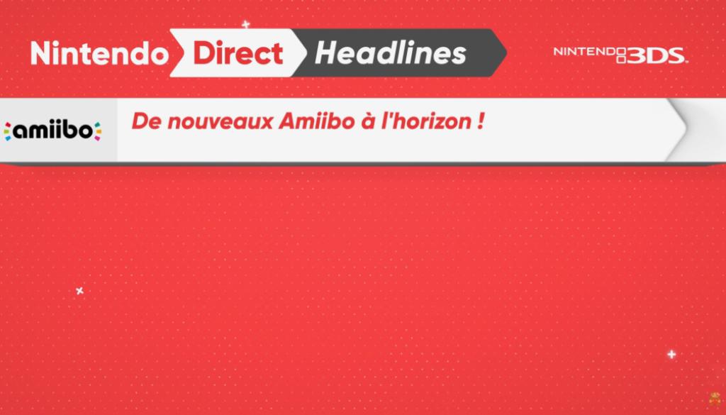 Bilan du Nintendo Direct du 13 avril : 12 nouveaux Amiibos prévus
