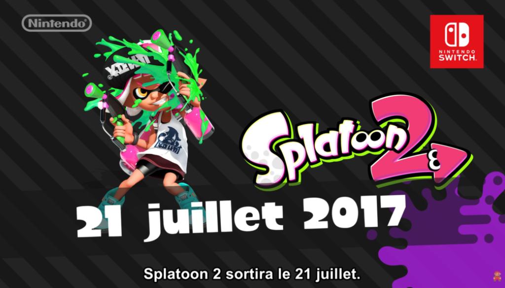 Bilan du Nintendo Direct du 13 avril : Splatoon 2 arrive le 21 juillet avec un nouveau mode Salmon Run