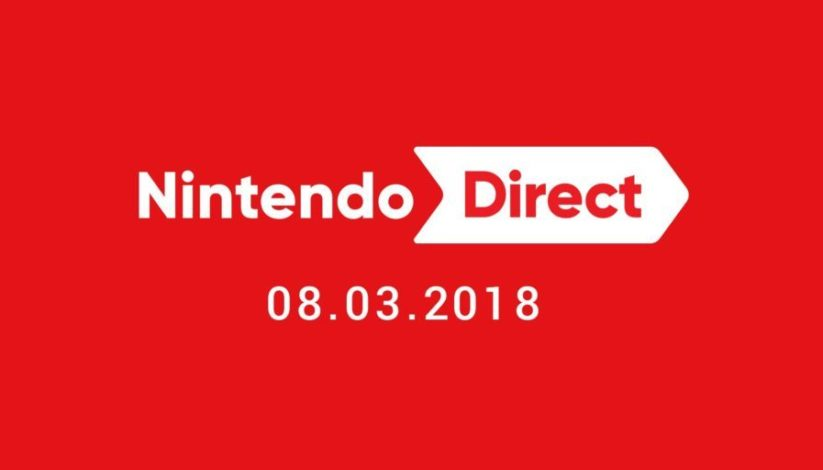Image d'annonce du Nintendo Direct du 8 mars 2018