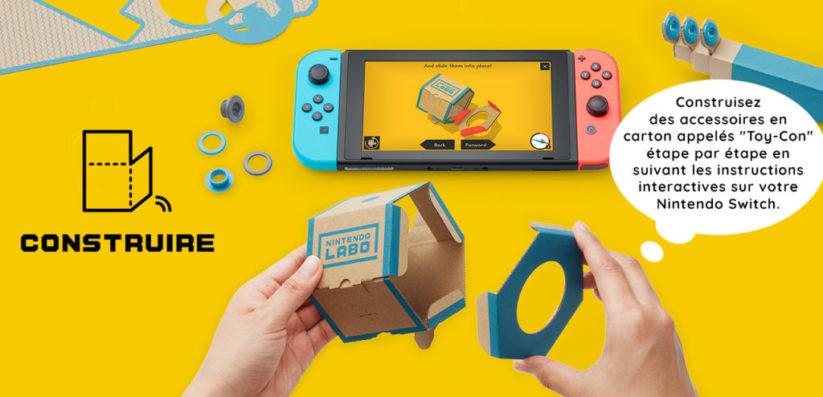 Nintendo Labo : Phase 1 Construire