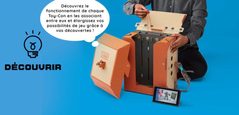 Nintendo Labo : Phase 3 Découvrir