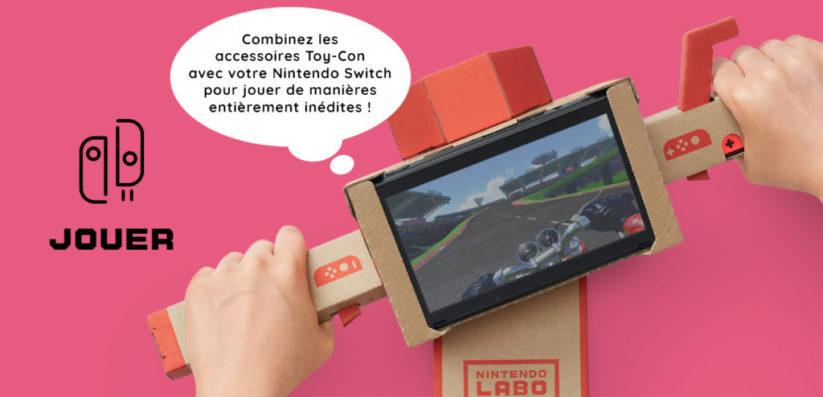 Nintendo Labo : Phase 2 Jouer