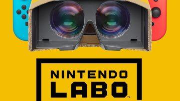 [Nintendo Labo] Le kit VR se dévoile pour Nintendo Switch