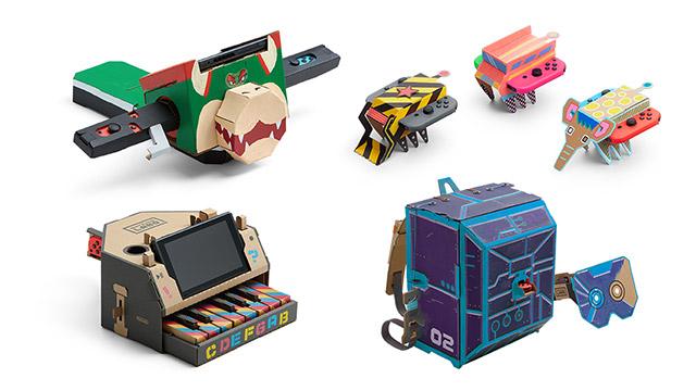 Jeu Nintendo Labo sur Nintendo Switch : créations Toy-Cons