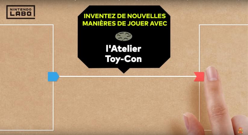 Jeu Nintendo Labo sur Nintendo Switch : Présentation de l'Atelier Toy-Con