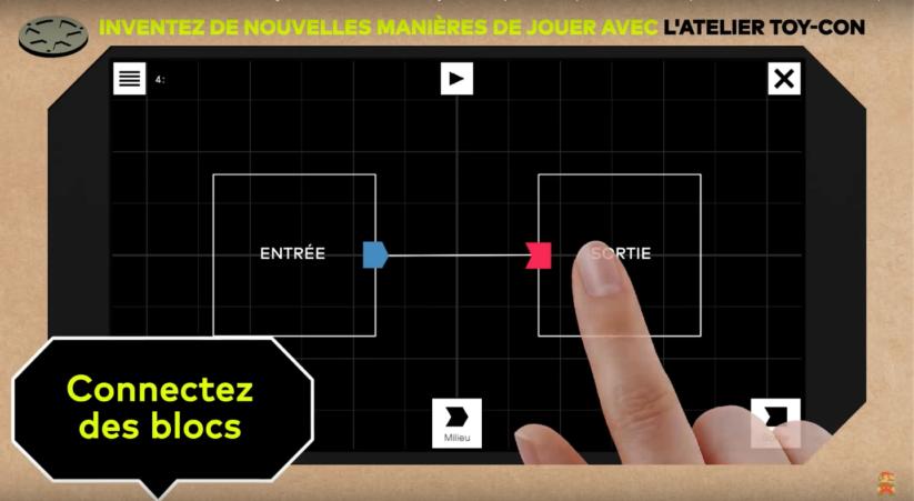 Jeu Nintendo Labo sur Nintendo Switch : blocs de l'Atelier Toy-Con