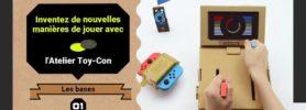 Jeu Nintendo Labo sur Nintendo Switch : couverture de l'Atelier Toy-Con