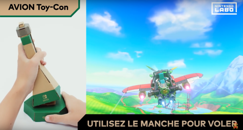 Jeu Nintendo Labo sur Nintendo Switch : Toy-Con avion