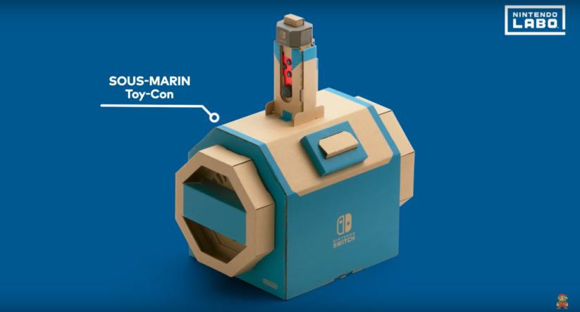 Jeu Nintendo Labo sur Nintendo Switch : Toy-Con sous-marin