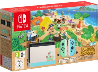 Console Nintendo Switch édition spécial Animal Crossing