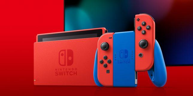 Nintendo Switch édition Mario : vue d'ensemble 3