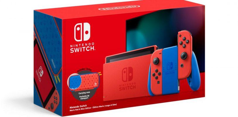 [Précommande] Nintendo Switch édition Mario