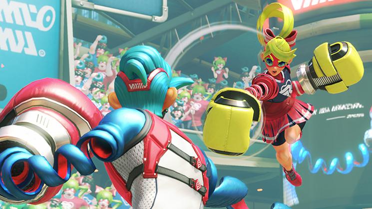 Image du jeu Arms sur Nintendo Switch