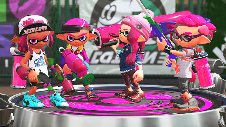 Image du jeu Splatoon 2 sur Nintendo Switch