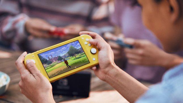 Pokémon Bouclier et Pokémon Épée seront jouables partout sur Nintendo Switch Lite