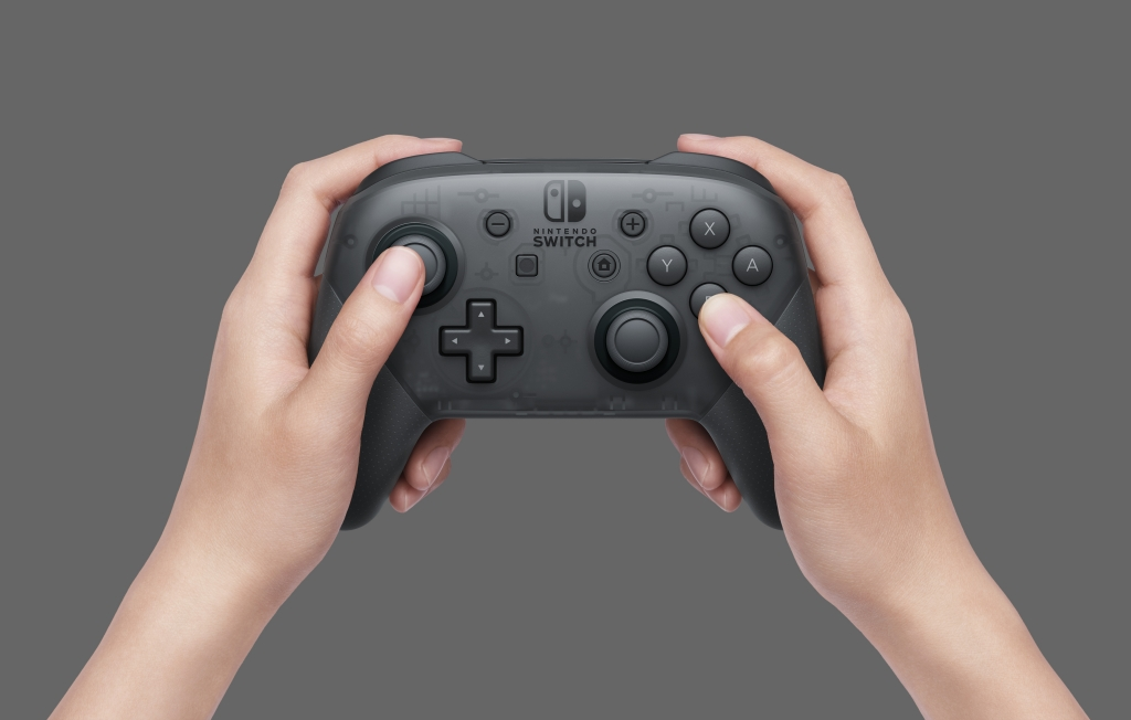 Présentation de la Nintendo Switch : manette Nintendo Switch Pro controller