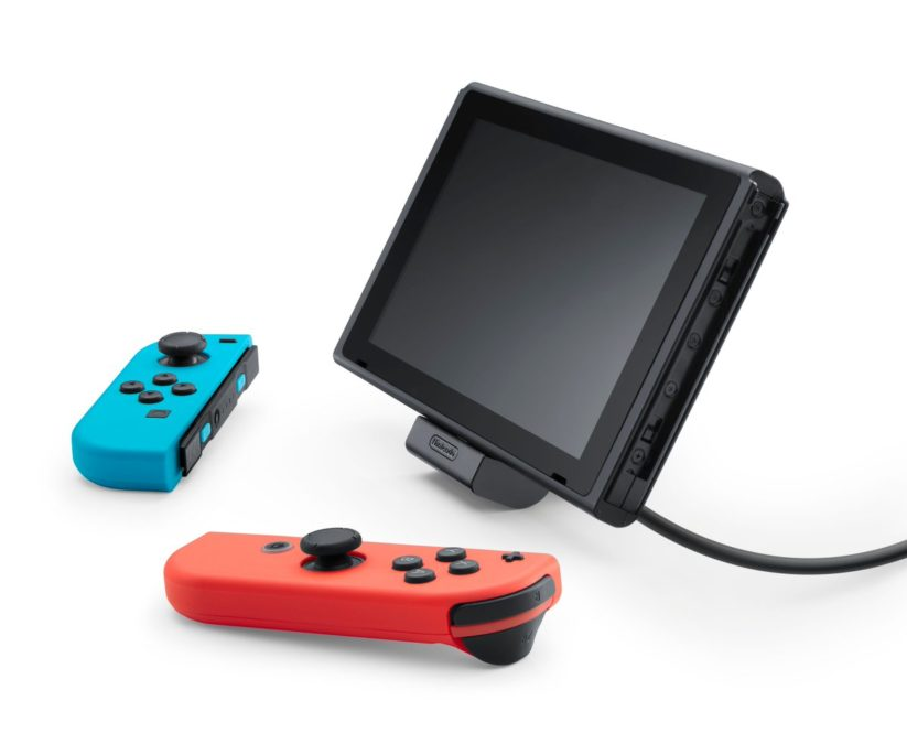 Nouveau dock de recharge officiel pour Nintendo Switch : stand