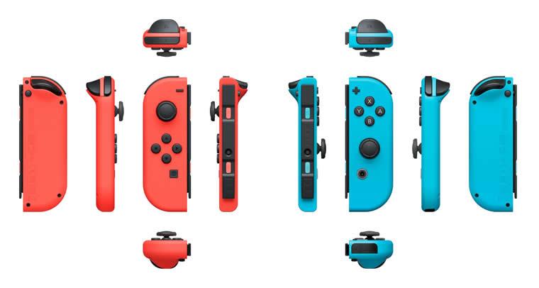 Précommander la console Nintendo Switch avec Joy-Con néon rouge et bleu