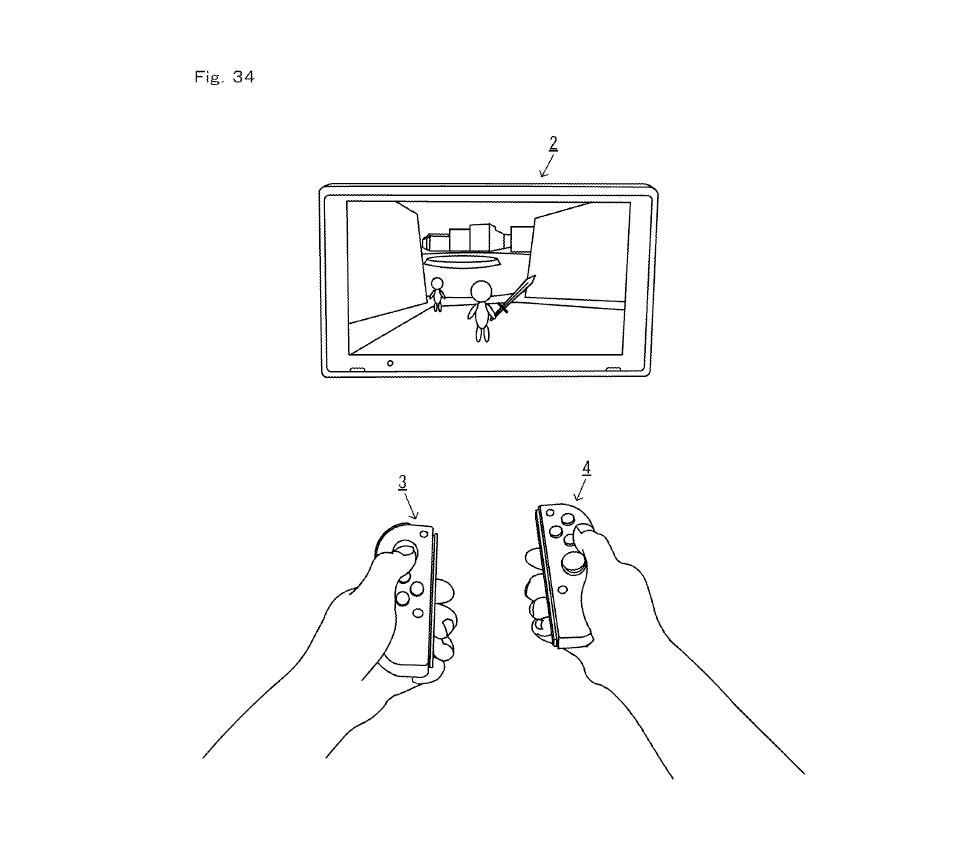 Joy-Con permettant de contrôler la console Switch pour de la réalité virtuelle