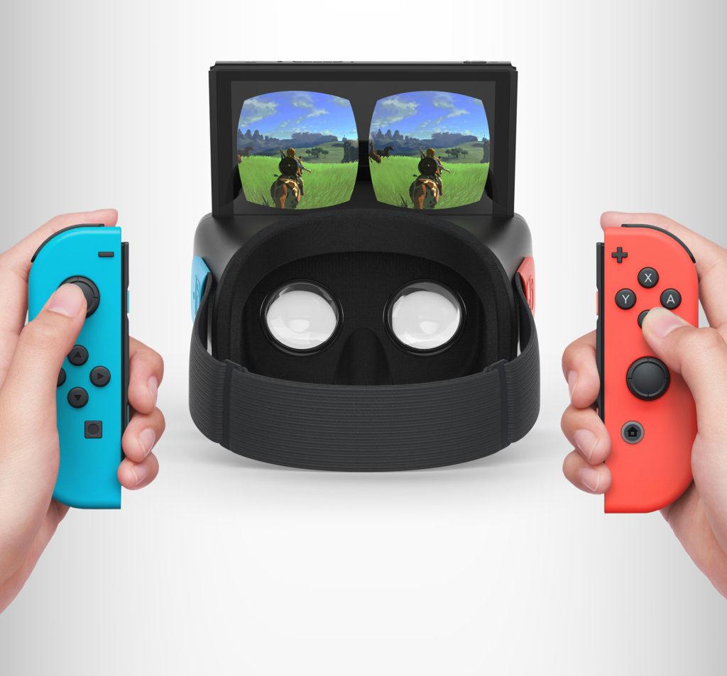 Zelda Breathf of the Wild sur Nintendo Switch VR réalisé par Antoine Beynel