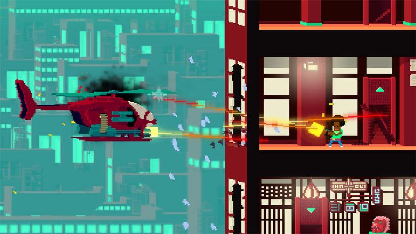 Jeu Not A Hero : Super Snazzy Edition sur Nintendo Switch : pourrez-vous vous échapper ?