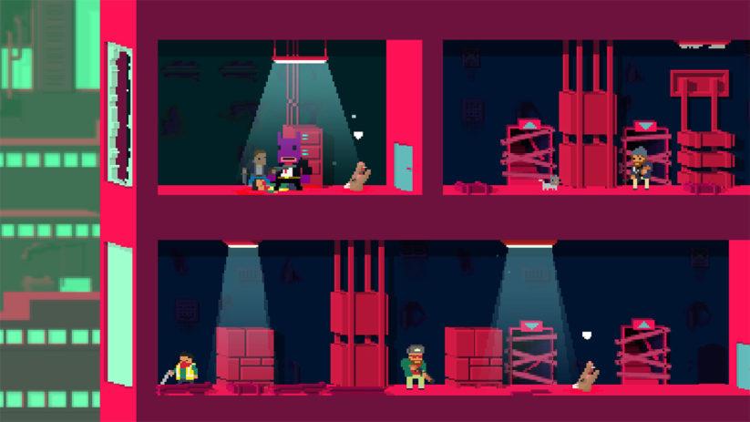 Jeu Not A Hero : Super Snazzy Edition sur Nintendo Switch : incarnez BunnyLord dans la campagne supplémentaire