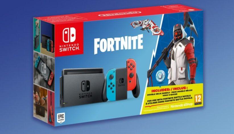 """Un nouveau bundle Nintendo Switch version """"Pack Royal"""" Fortnite"""