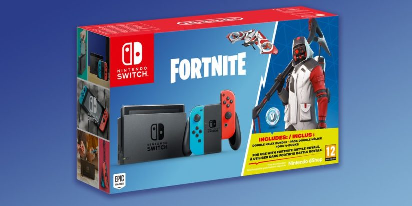 "Un nouveau bundle Nintendo Switch version ""Pack Royal"" Fortnite"