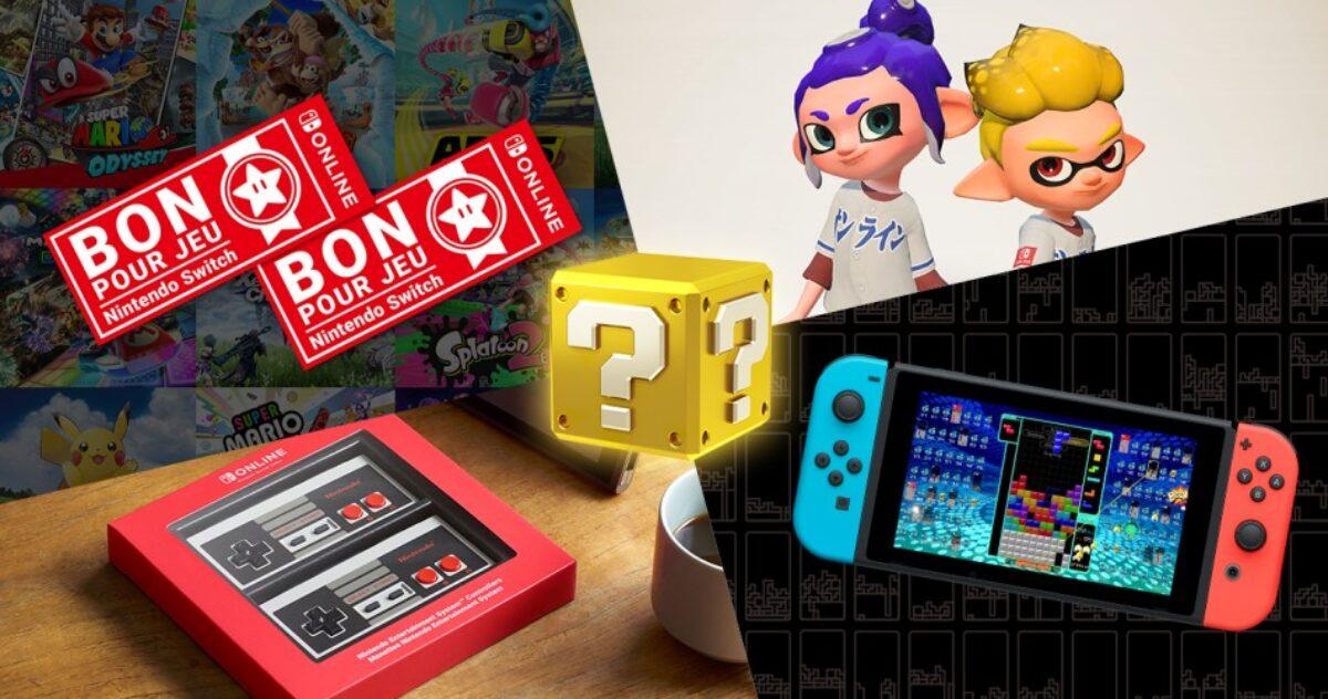 Nintendo propose l'offre de bons d'achat à prix réduit sur l'eShop pour les abonnés au Nintendo Switch Online