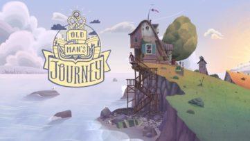 Jeu Old Man's Journey sur Nintendo Switch : écran titre