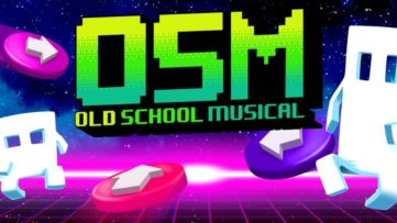 Jeu Old School Musical sur Nintendo Switch : artwork du jeu