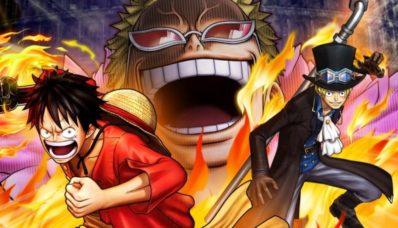 Jeu One Piece : Pirate Warriors 3 Deluxe Edition sur Nintendo Switch : artwork