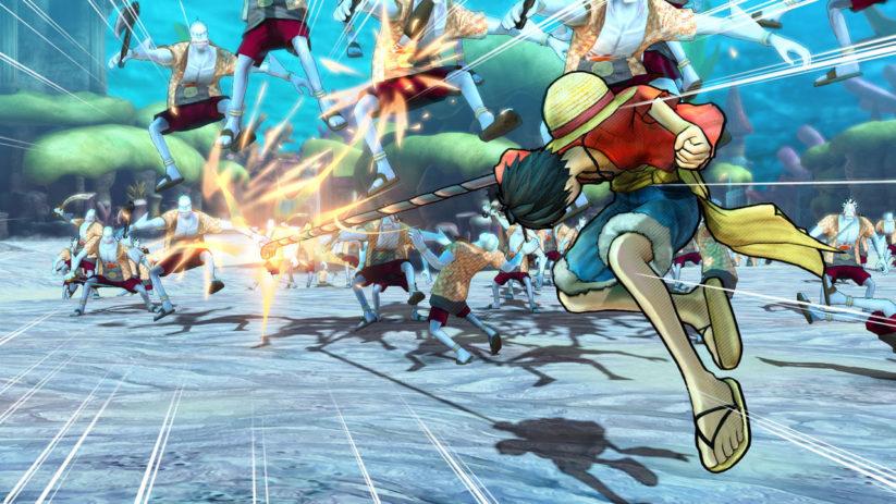 Jeu One Piece : Pirate Warriors 3 Deluxe Edition sur Nintendo Switch : screenshot de combat