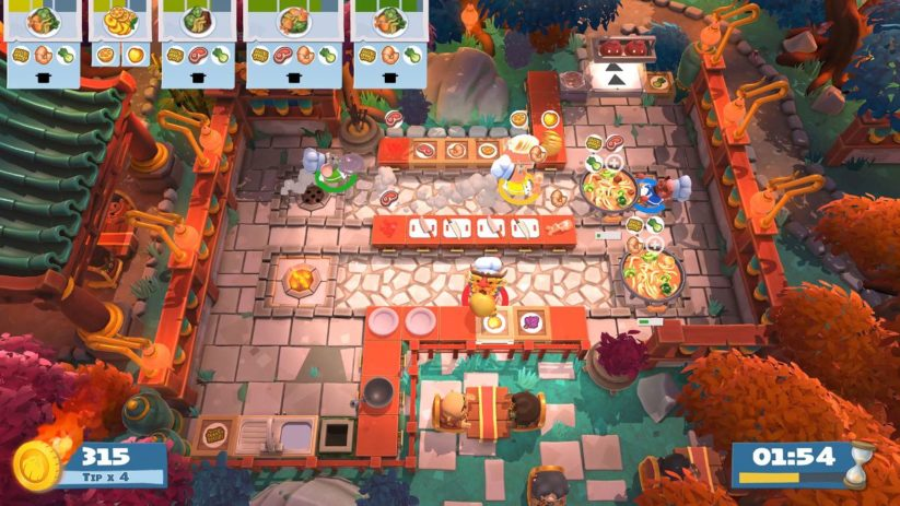 Jeu Overcooked! 2 sur Nintendo Switch : sept nouvelles cuisines pour le nouvel an chinois