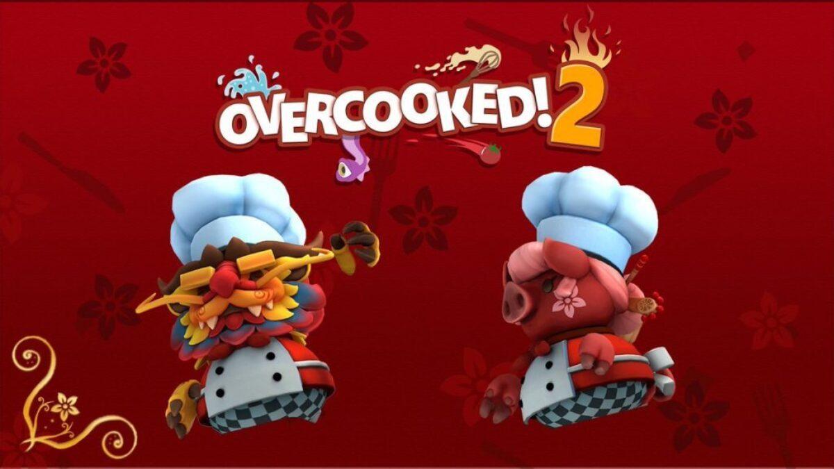 Jeu Overcooked! 2 sur Nintendo Switch :deux nouveaux personnages pour le nouvel an chinois