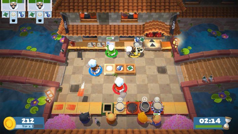Jeu Overcooked! 2 sur Nintendo Switch : a quatre pour encore plus de fun