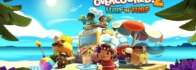 Jeu Overcooked! 2 sur Nintendo Switch : artwork du DLC Surf 'n' Surf