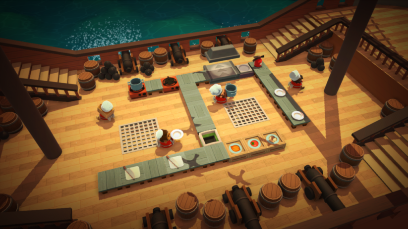 Screenshot du jeu Overcooked sur Nintendo Switch : 3