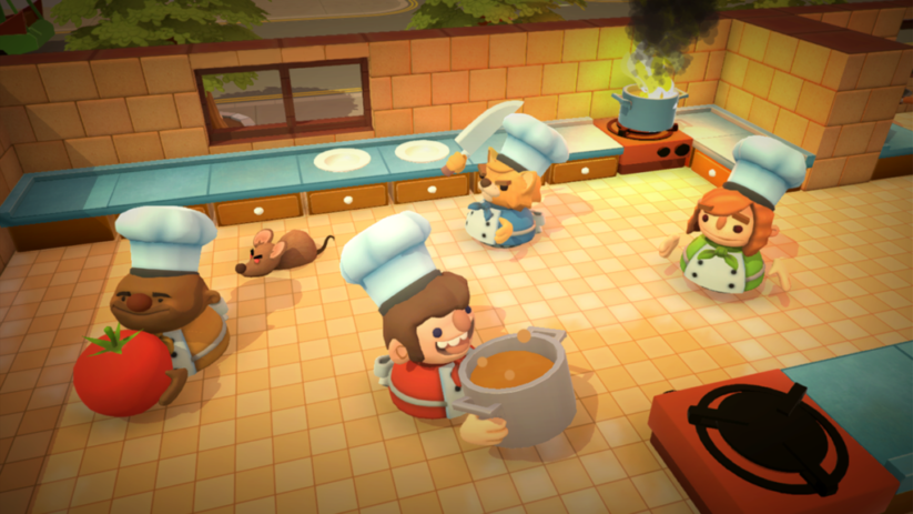 Screenshot du jeu Overcooked sur Nintendo Switch : 4