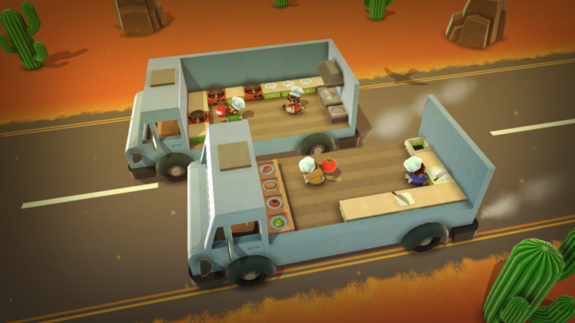 Screenshot du jeu Overcooked sur Nintendo Switch : 5
