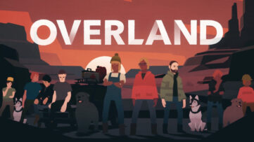 Jeu Overland sur Nintendo Switch : artwork du jeu