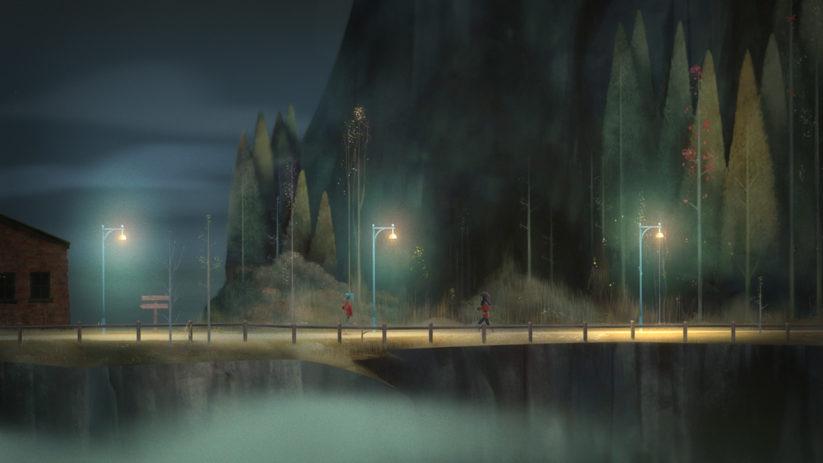 Image du jeu Oxenfree sur Nintendo Switch : aperçu