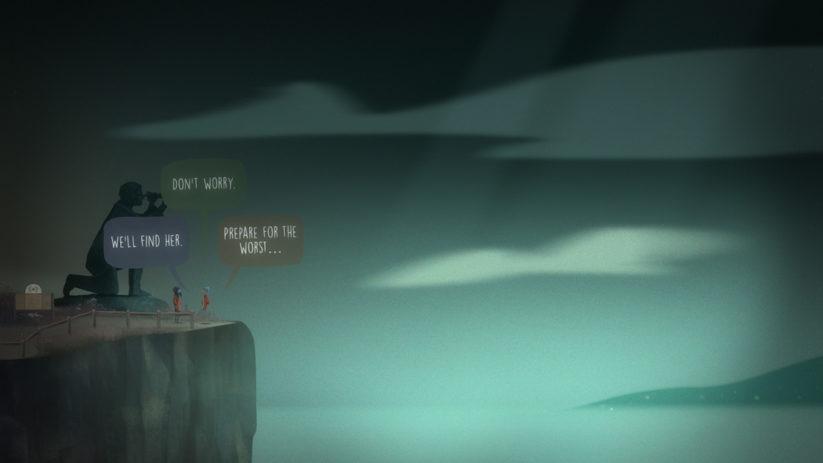 Image du jeu Oxenfree sur Nintendo Switch : une quête inquiétante