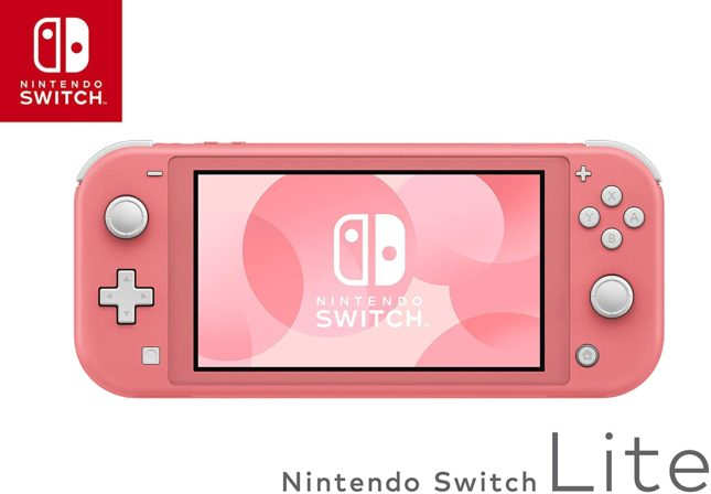 Packaging de la Nintendo Switch Lite version Corail