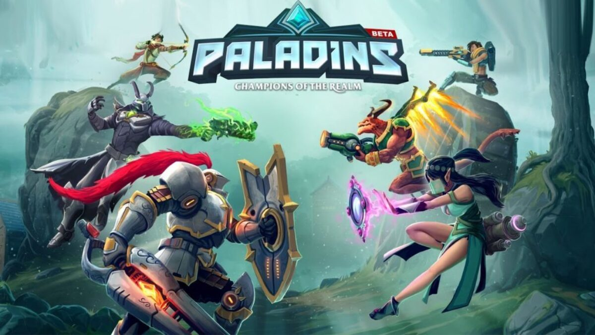 Jeu Paladins sur Nintendo Switch : artwork du jeu