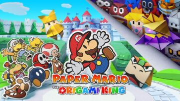 Jeu Paper Mario : The Origami King sur Nintendo Switch - artwork du jeu